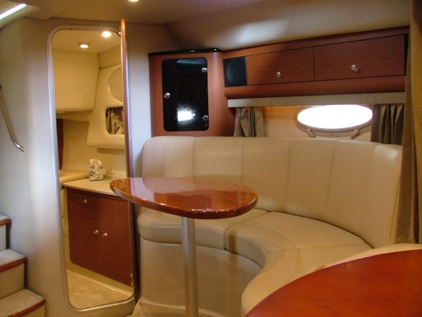 Cabin from forward facing aft
