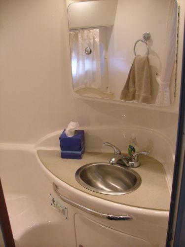 Head vanity sink