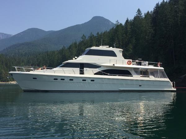 Hampton 740 Yachtfish Skylounge