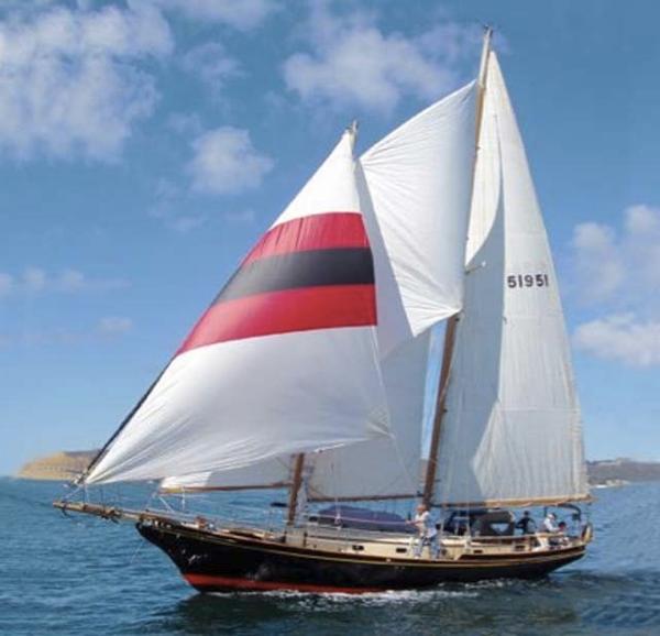 Herreshoff Mobjack Staysail Schooner 45