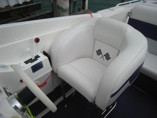 Drop Down Helm Seat