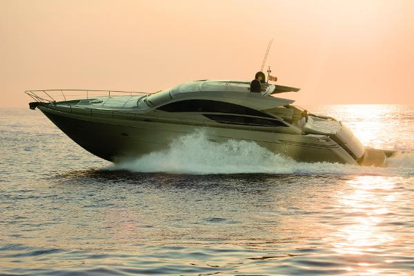 Pershing 64 Manufacturer Provided Image: Pershing 64 Side View