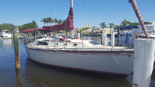 O'Day 35 Starboard Side View