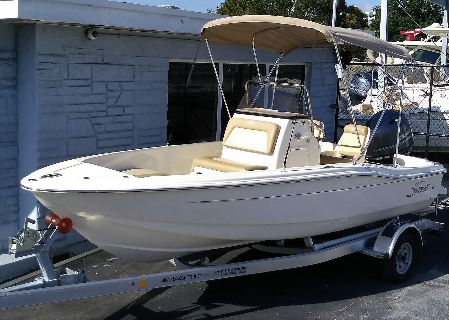 Scout 175 Sport Fish 2020 Scout 175 Sportfish - Seven Seas Yacht Sales, Inc.