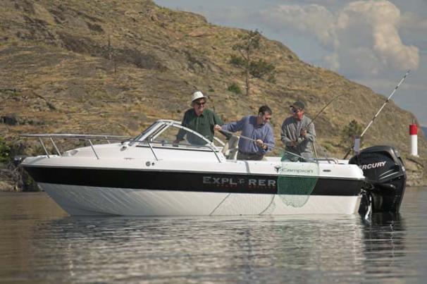Campion Explorer 542 Sport Cabin