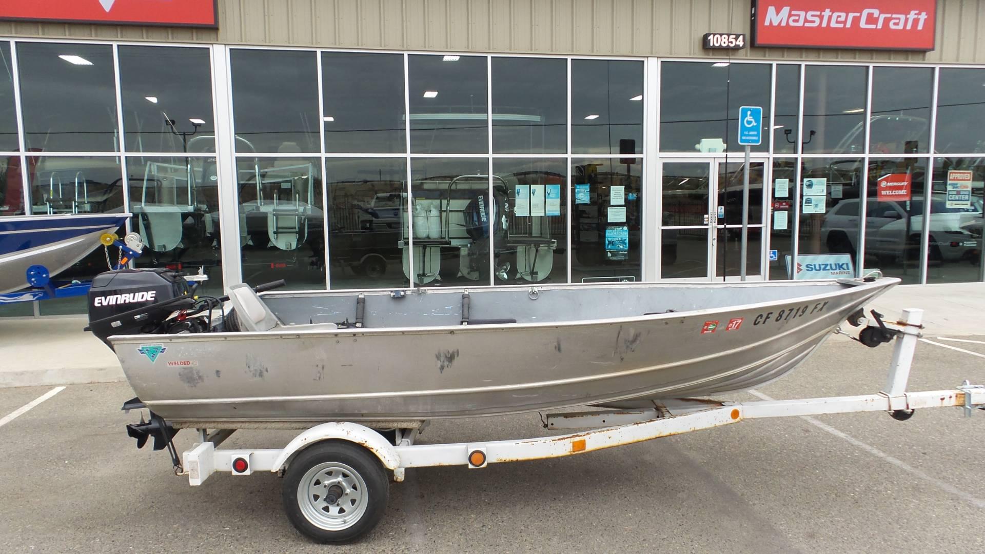 Gregor 14 Ft Fishing Boat