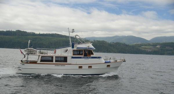 Custom Diesel Trawler
