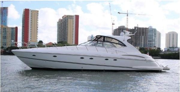 Cruisers Yachts 560 Express Profile