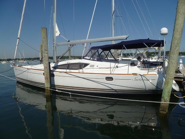 Jeanneau Sun Odyssey 50 DS Jeanneau 50DS at the Dock