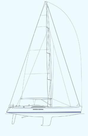 Nautor Swan 66 S Sail Plan