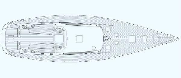 Nautor Swan 66 S Deck Plan
