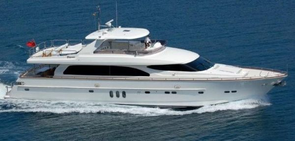 Elegance 88 AT SEA SIDE VIEW