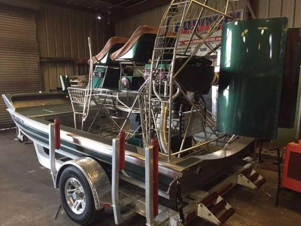 Hamant Air Boat 2015 Hamant AirBoat 14'