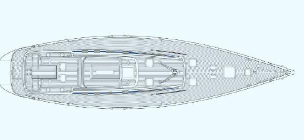 Nautor Swan 75 FD Deck Plan