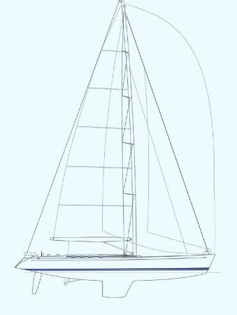 Nautor Swan 75 FD Sail Plan