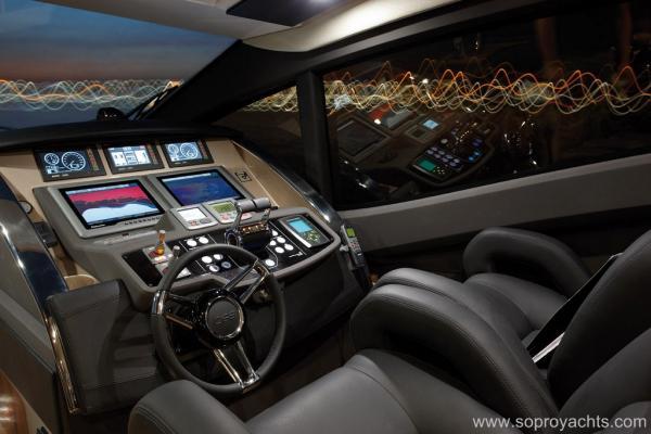 Helm - Sessa C68 Yacht Line