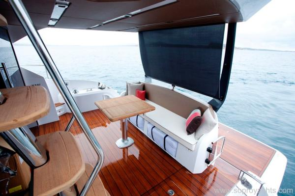 Exterior - Sessa C68 Yacht Line