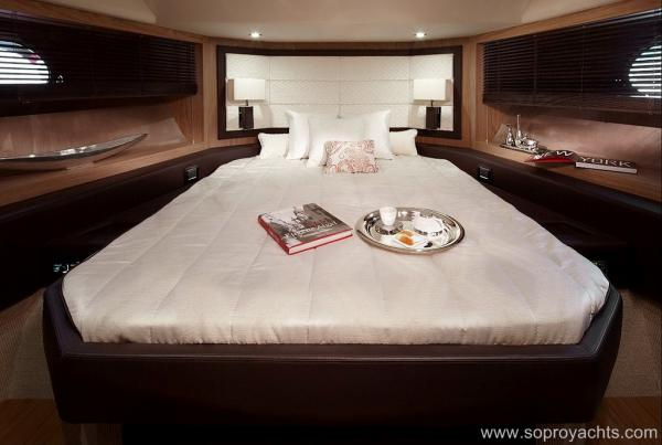 Cabin - Sessa C68 Yacht Line