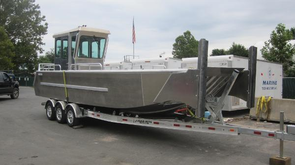 Commercial 28' Aluminum Landing Craft