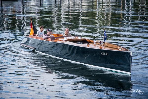 Classic Motorboat