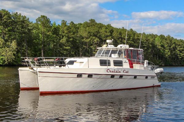 "Endeavour ""44"" TrawlerCat CRUISIN' CAT"