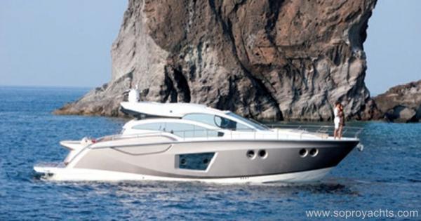 Sessa C54  Sport  Coupé Exterior - Sessa C54 Yacht Line