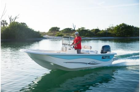 Carolina Skiff 218 DLV T-Top