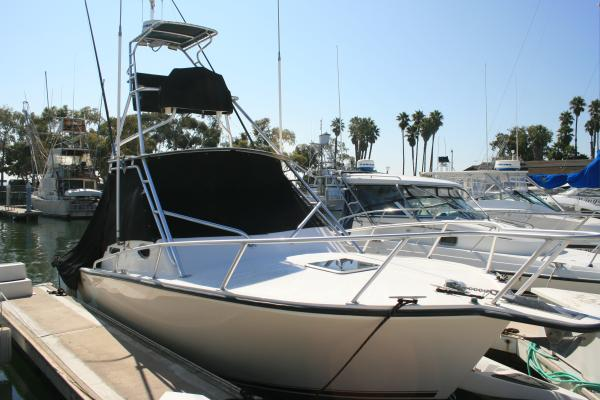 Albemarle 280 Express Fisherman W/ Yanmars and Tower Canvass On
