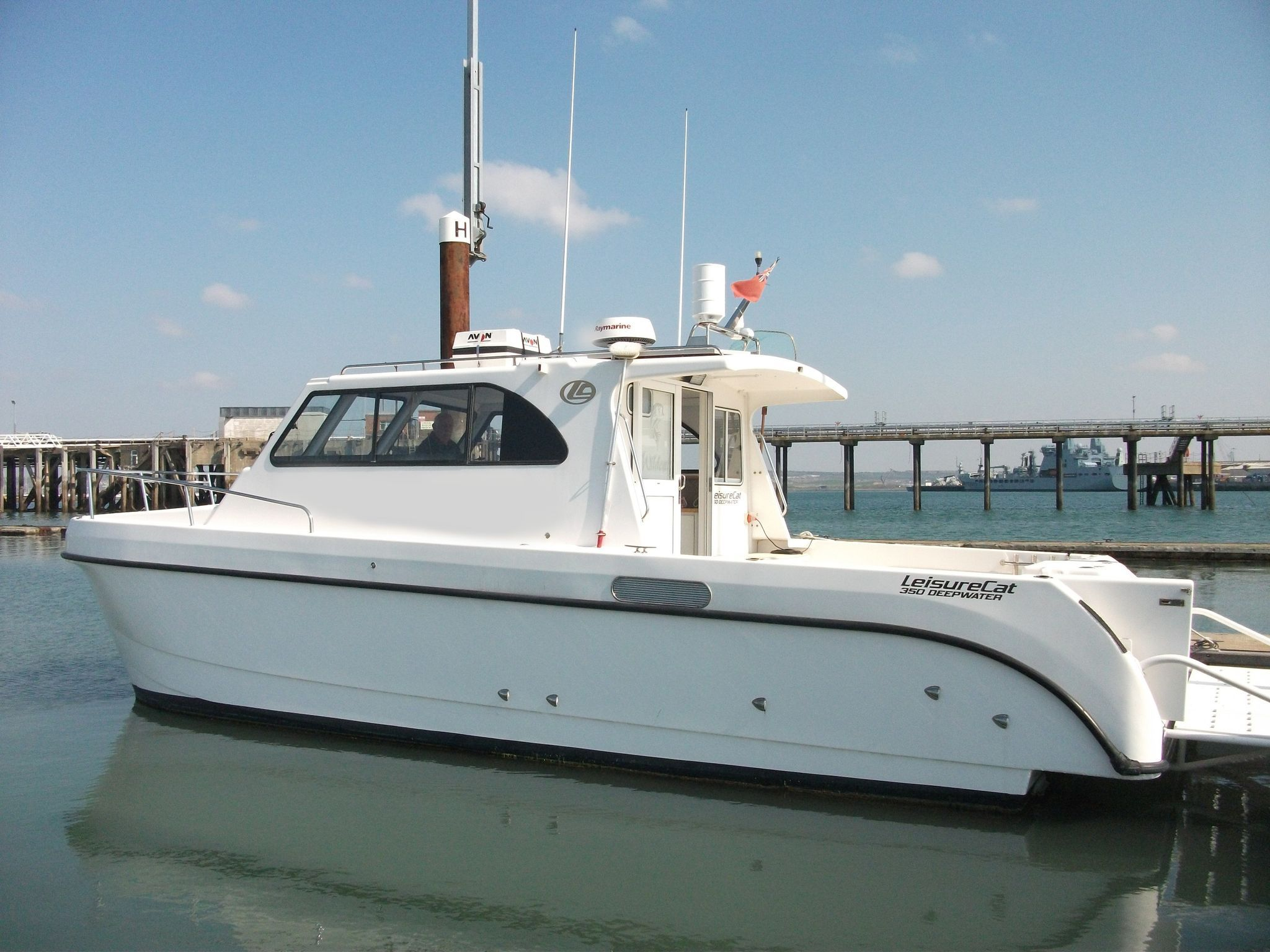 LeisureCat 350 deep water