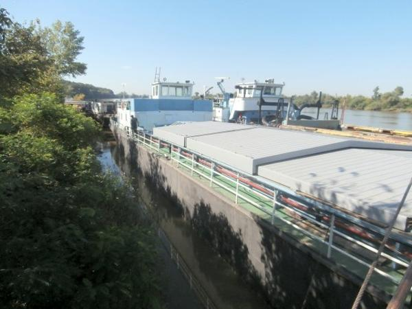 "Custom 1974 262' x 30'8"" x 7'2"" Self Propelled Barge"