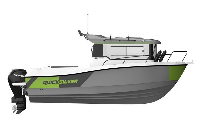 Quicksilver 675 Pilothouse EXPLORER EDITION 115 PS