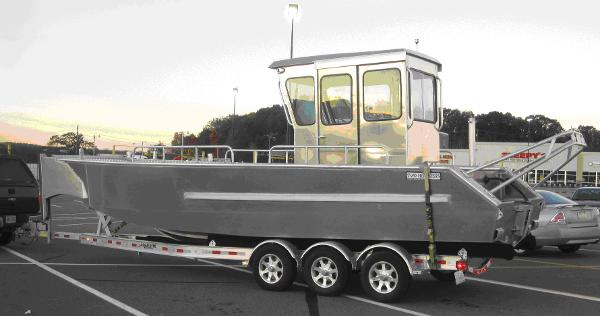 Commercial 26' x 8'6 Landing Craft