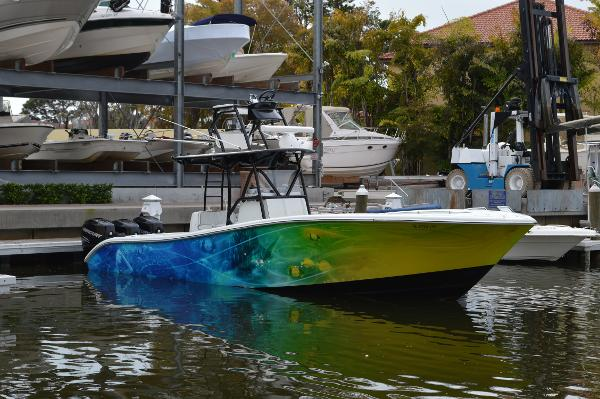 Yellowfin 34 CC with tower