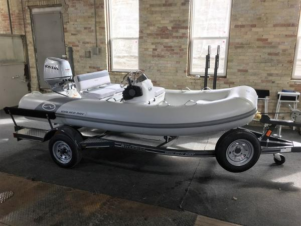 Walker Bay Supertender Rigid Inflatable Console 365STX
