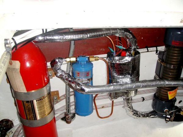 Halon Fire Suppression