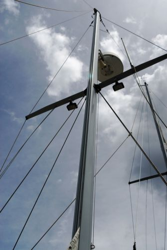 New Mast and Rigging