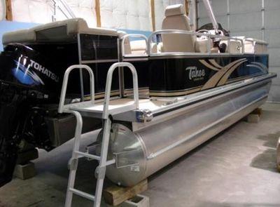 Tahoe Pontoon Sierra RE NEW 2009 Tahoe 2025 Sierra RE 20' Pontoon Boat Engine & Trailer Option