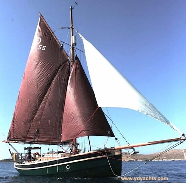 Cornish Crabbers Pilot Cutter 30