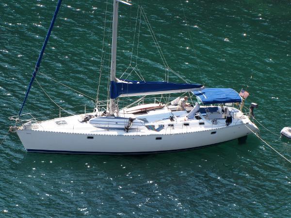 "Beneteau Oceanis 510 Beneteau 50 ""Mas Pura Vida"" @ anchor"