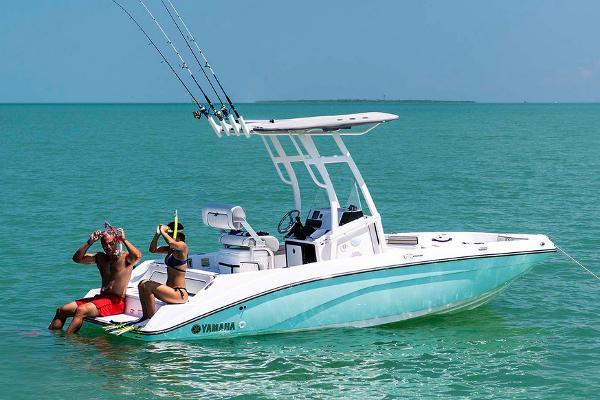 Yamaha Boats 190 FSH Sport Manufacturer Provided Image