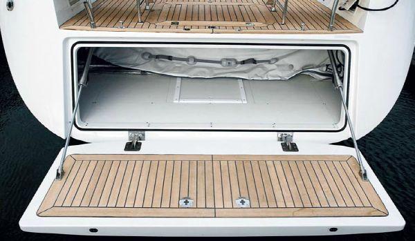 Nautor Swan 66 FD Bathing Platform