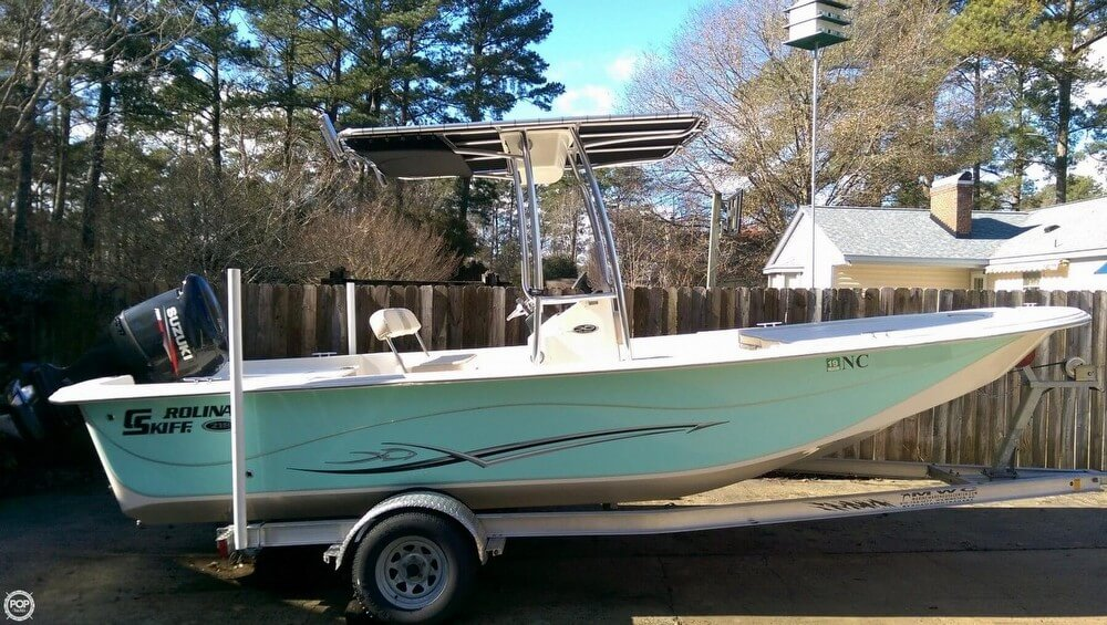 Carolina Skiff 218 DLV 2016 Carolina Skiff 218 DLV for sale in Trent Woods, NC