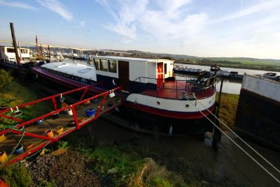 Humber Keel Barge Houseboat Humber Keel Barge Houseboat for sale