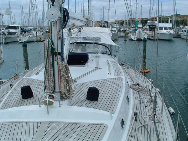 Foredeck Looking Aft