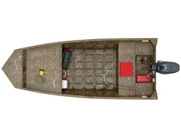 G3 Boats Jon Boats 1548 VBW