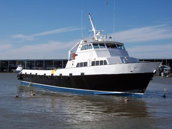 135' Aluminum Crew Boat For Sale