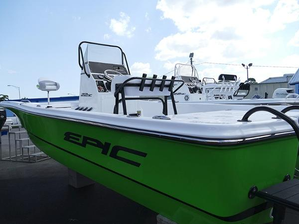 Epic 22 Sport Console Lime #B16