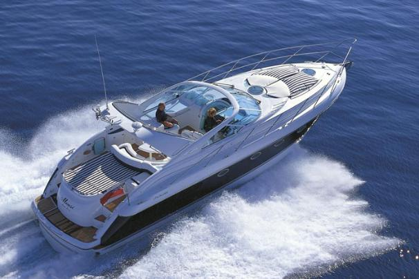 Fairline Targa 43 Manufacturer Provided Image: Cruising