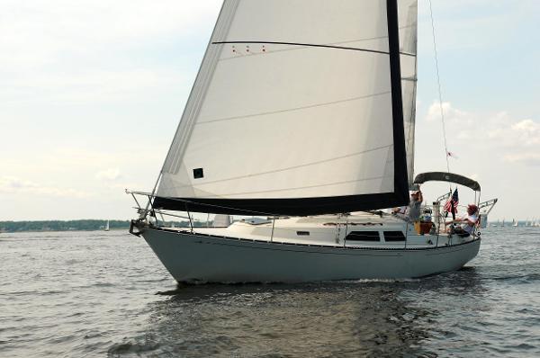 C&C 37 C&C 37 Under Sail