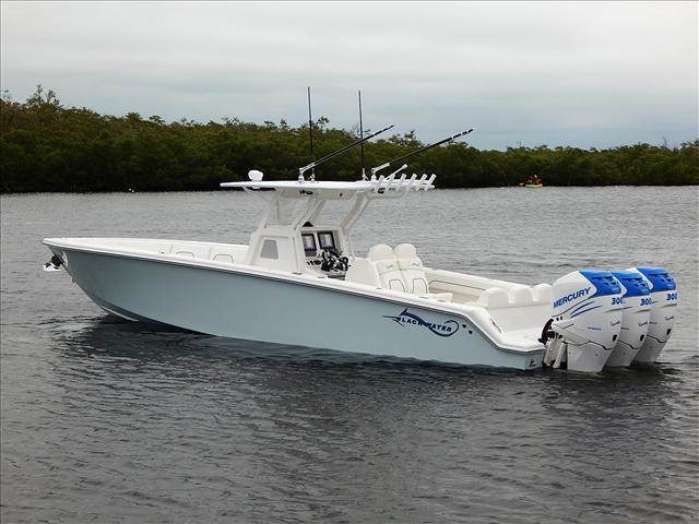 Blackwater Boats Center Console 36 SPORT